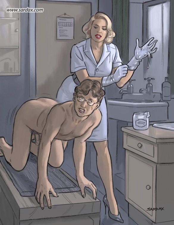 массаж простаты