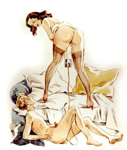 клизма из женской мочи