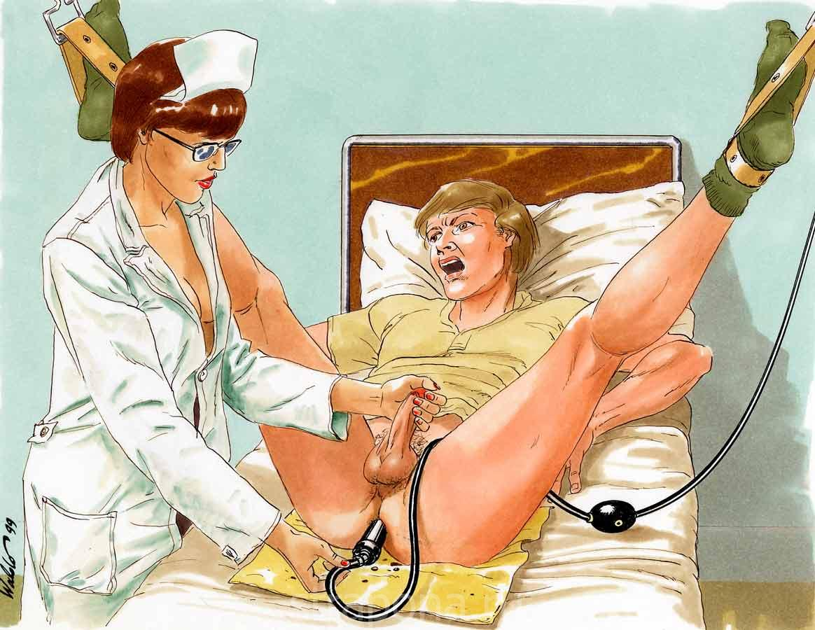 Gay porn medical enema
